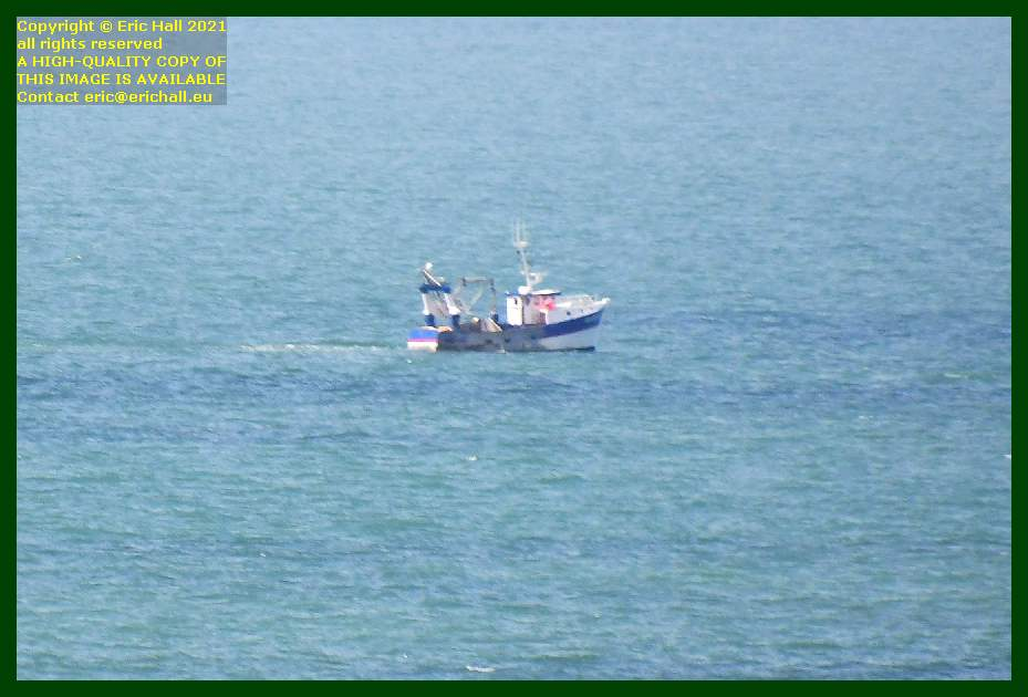 trawler working the baie de Granville Manche Normandy France Eric Hall