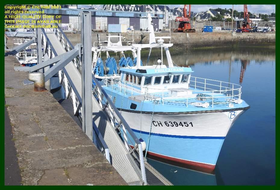 philcathane port de Granville harbour Manche Normandy France Eric Hall