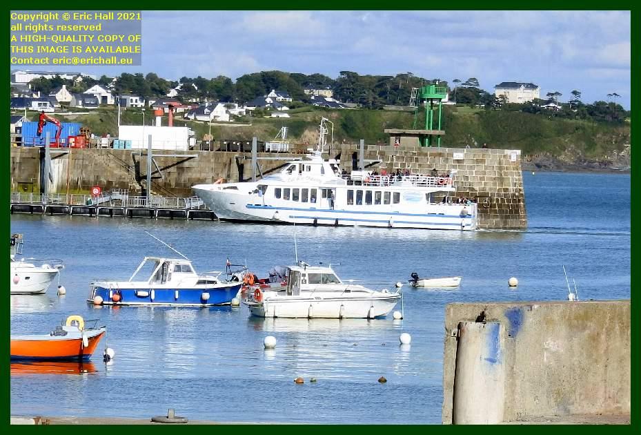 joly france 1 ferry terminal port de Granville harbour Manche Normandy France Eric Hall