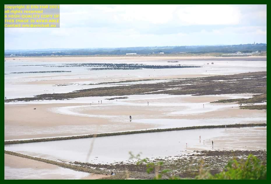 bouchot beds donville les bains medieval fish trap plat gousset Granville Manche Normandy France Eric Hall