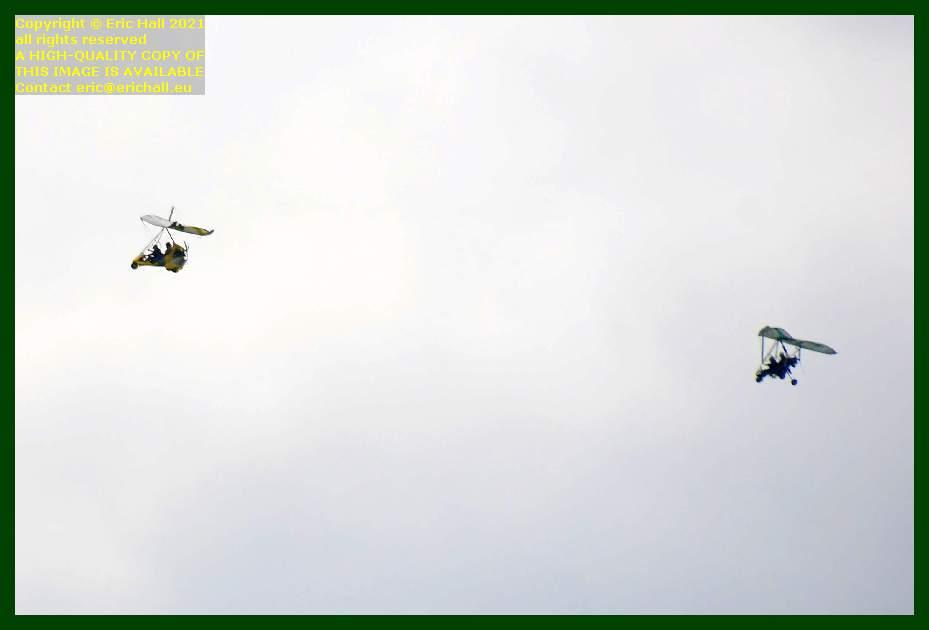 autogyros pointe du roc Granville Manche Normandy France Eric Hall