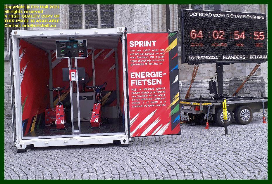 cycling energy sprint oud markt Leuven Belgium Eric Hall