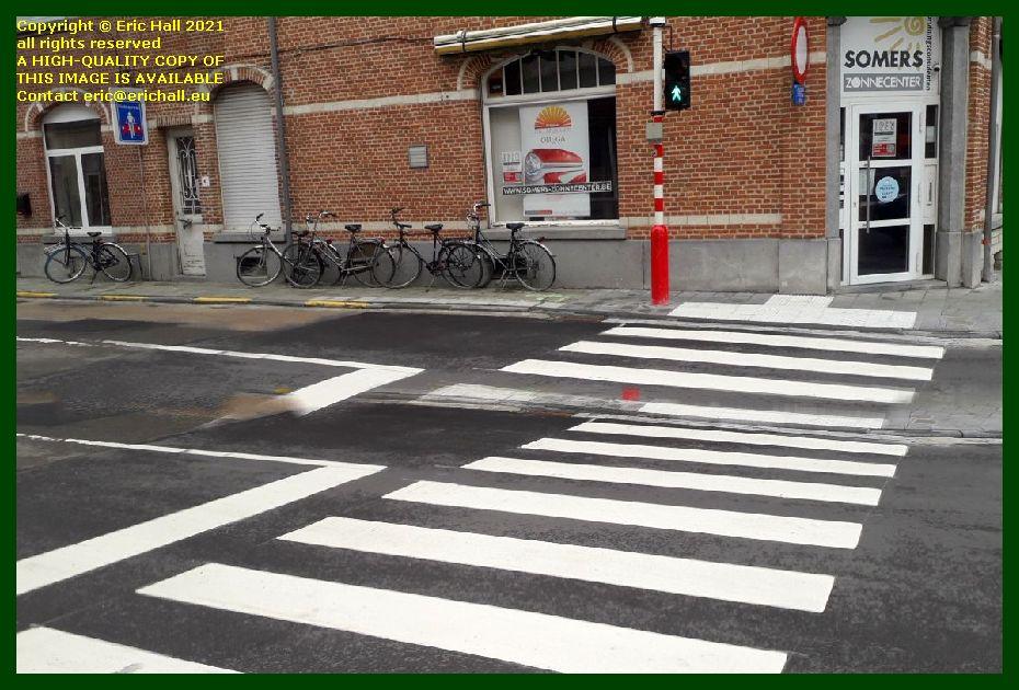 tactile pavement goedsbloemstraat Leuven Belgium Eric Hall