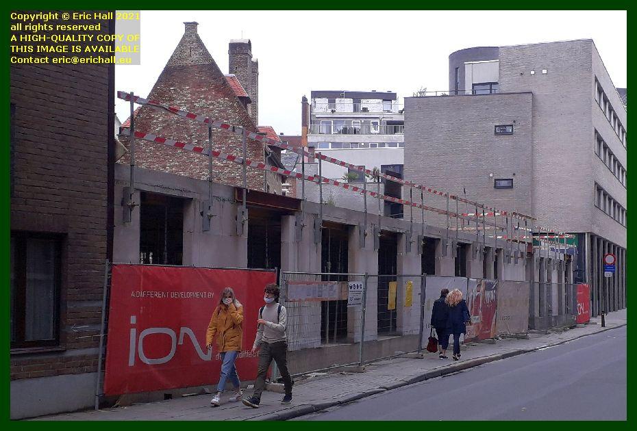 new building zongang kapucijnenvoer Leuven Belgium Eric Hall