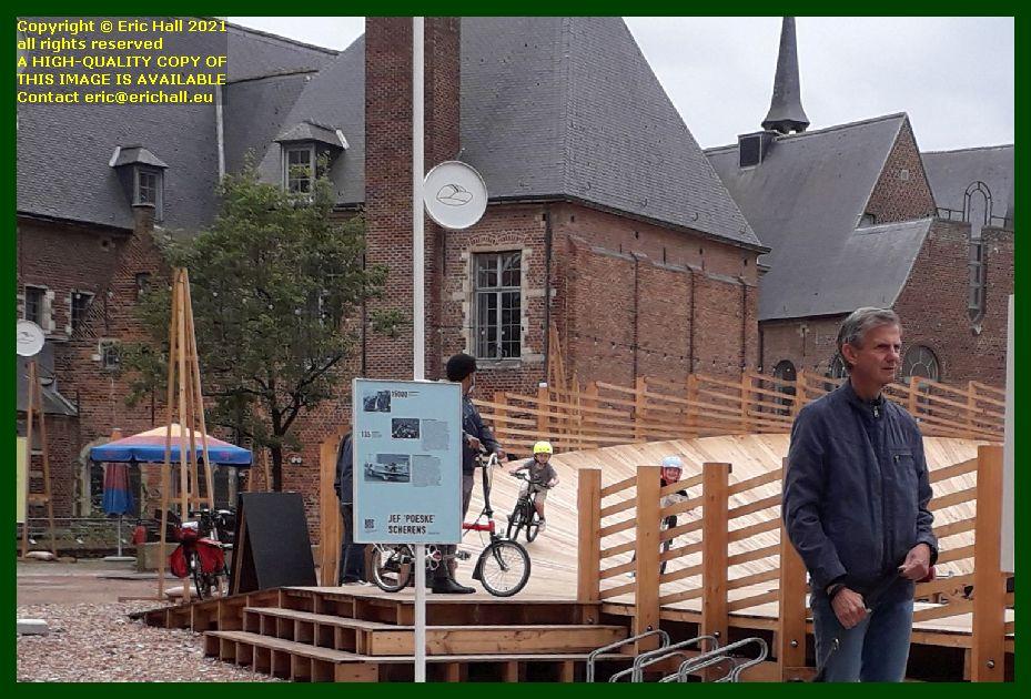 kids on bikes velodrome brusselsestraat Leuven Belgium Eric Hall