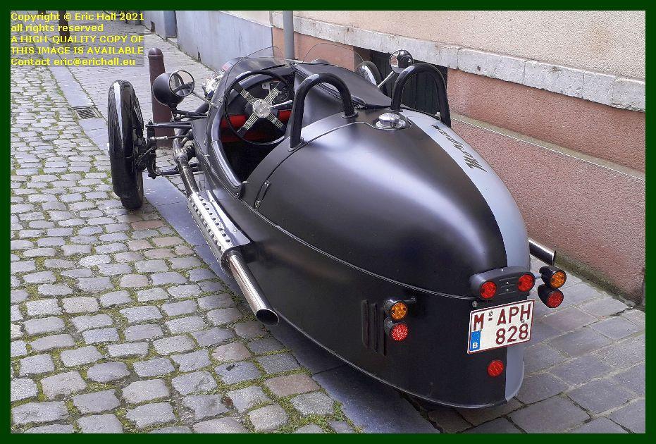 modern morgan 3 wheeler predikherenstraat Leuven Belgium Eric Hall