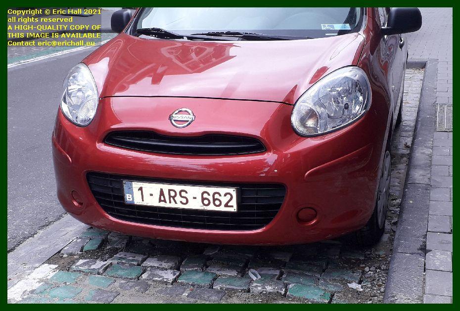 nissan motor car tiensestraat Leuven Belgium Eric Hall