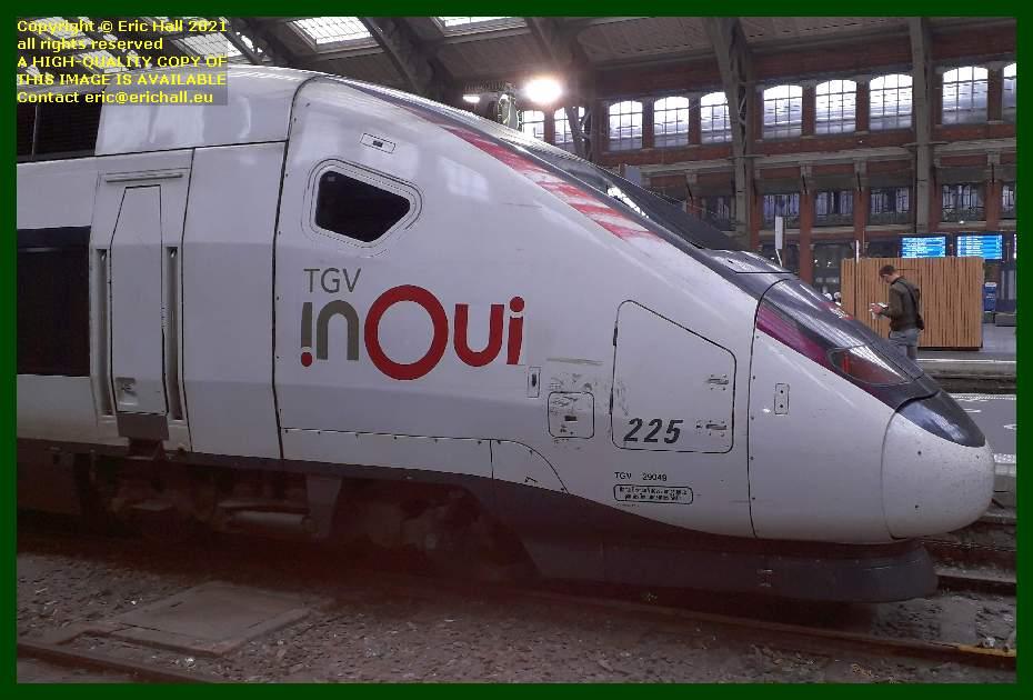 TGV Reseau Duplex 225 gare du lille flandres france Eric Hall