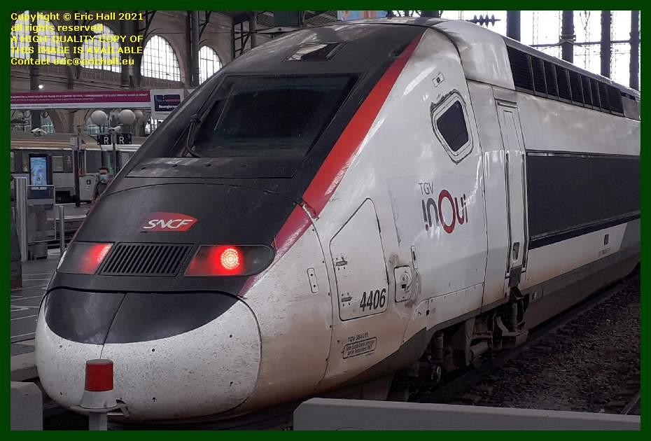 TGV POS 4406 gare du nord paris france Eric Hall