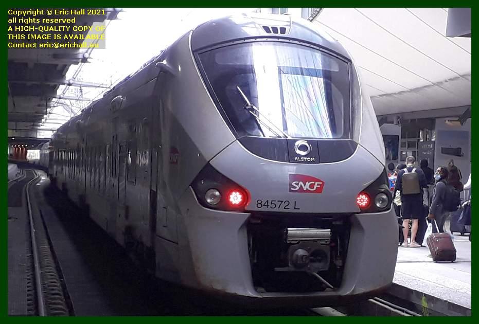 84572 gec alstom regiolis gare montparnasse paris france Eric Hall