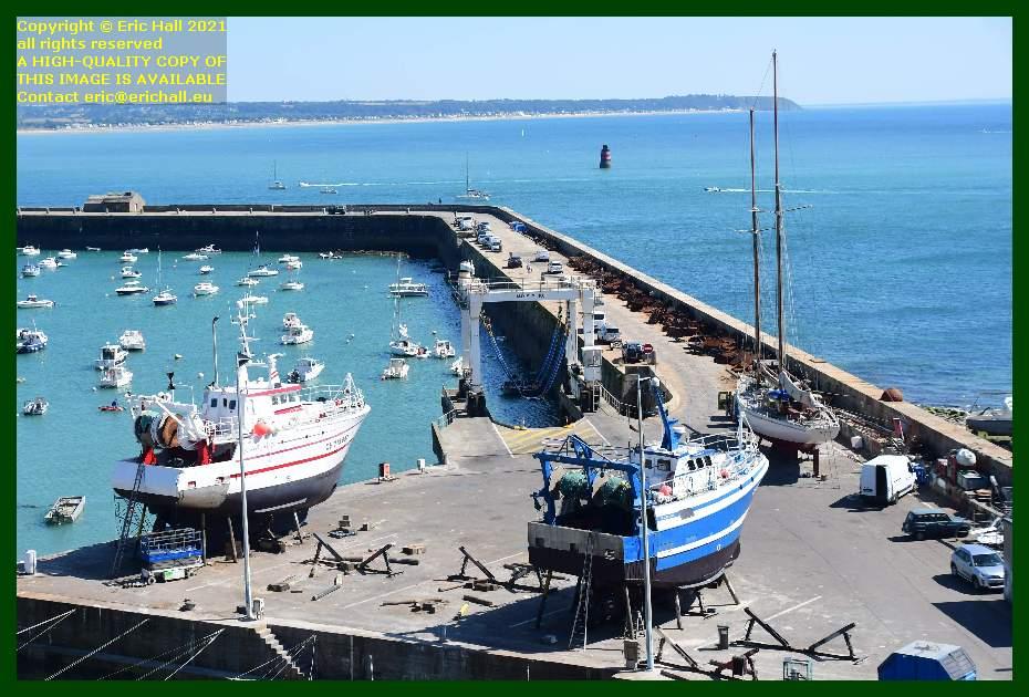 l'alize 3 galapagos chantier navale port de Granville harbour Manche Normandy France Eric Hall