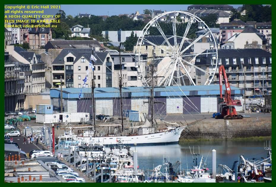 marite big wheel port de Granville harbour Manche Normandy France Eric Hall