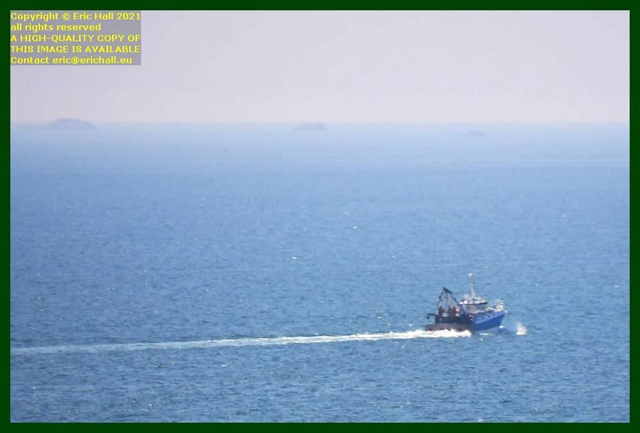 trawler baie de Granville Manche Normandy France Eric Hall