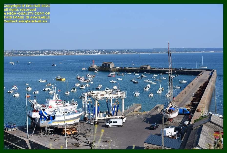 yacht rebelle trawler l'alize 3 chantier naval port de Granville harbour Manche Normandy France Eric Hall