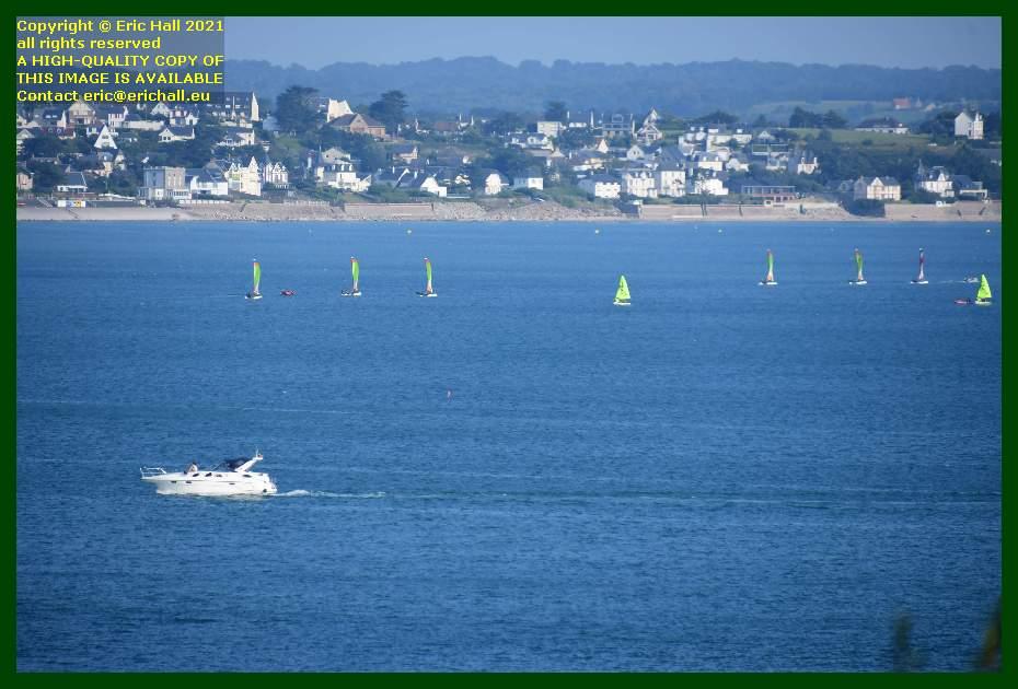 speedboat yacht school baie de mont st michel Granville Manche Normandy France Eric Hall