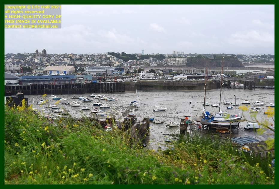 tidal harbour chantier naval port de Granville harbour Manche Normandy France Eric Hall