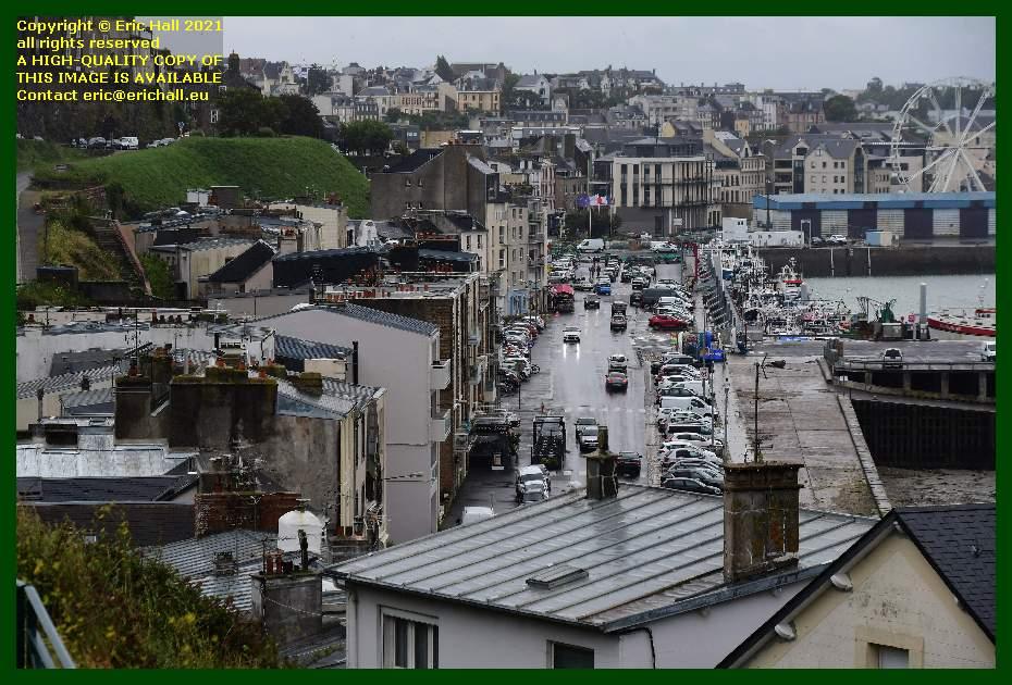 rue du port de Granville harbour Manche Normandy France Eric Hall