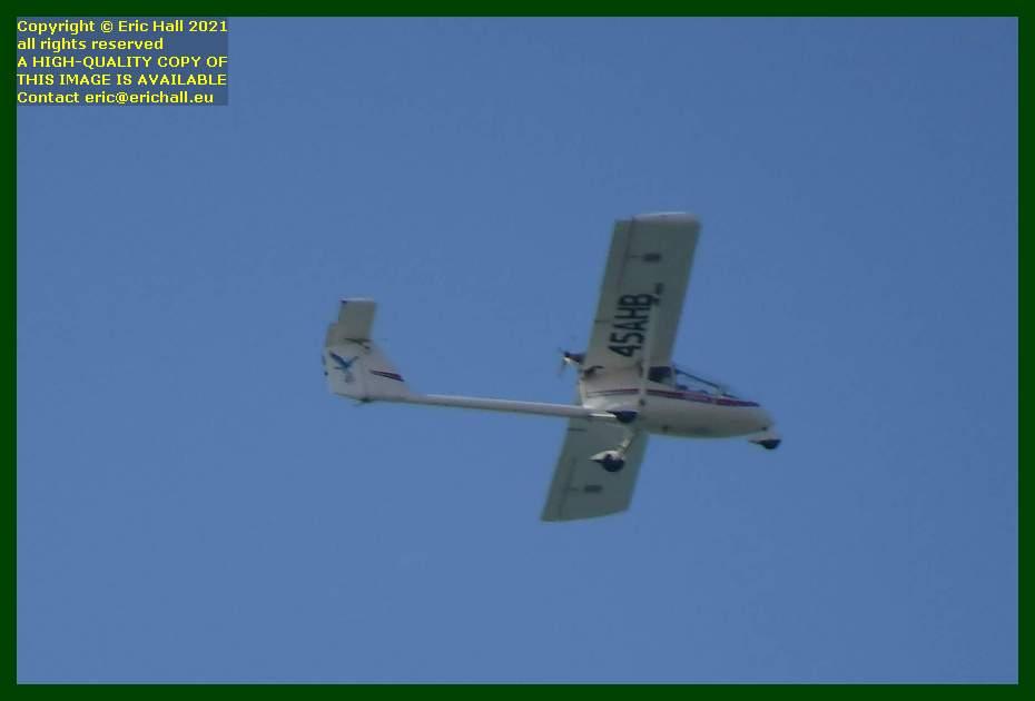 45ahb Albatros AE 209 80CV pusher aeroplane pointe du roc Granville Manche Normandy France Eric Hall