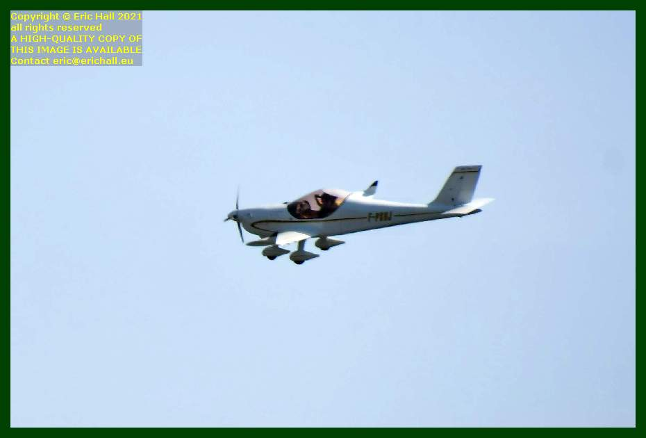 Pennec Gaz'Aile 2 aeroplane F-PSBJ pointe du roc Granville Manche Normandy France Eric Hall