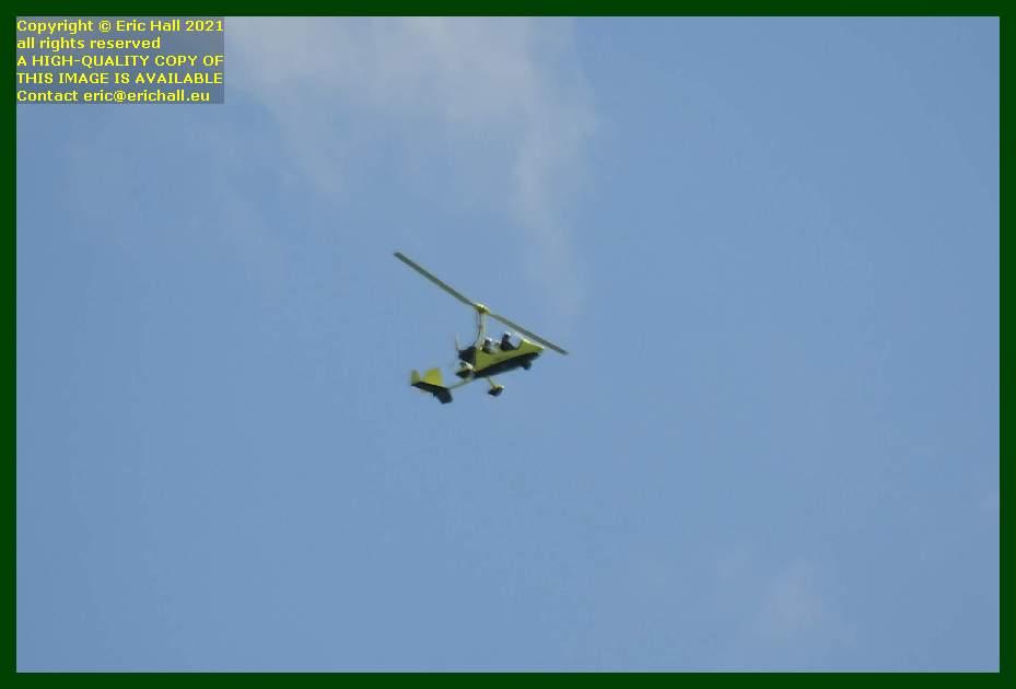 autogyro pointe du roc Granville Manche Normandy France Eric Hall