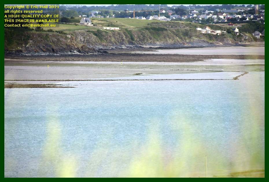 medieval fish trap plage d'hacqueville Granville Manche Normandy France Eric Hall