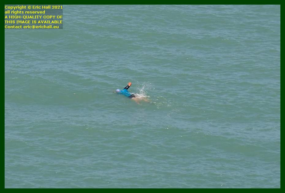 swimmer baie de Granville Manche Normandy France Eric Hall