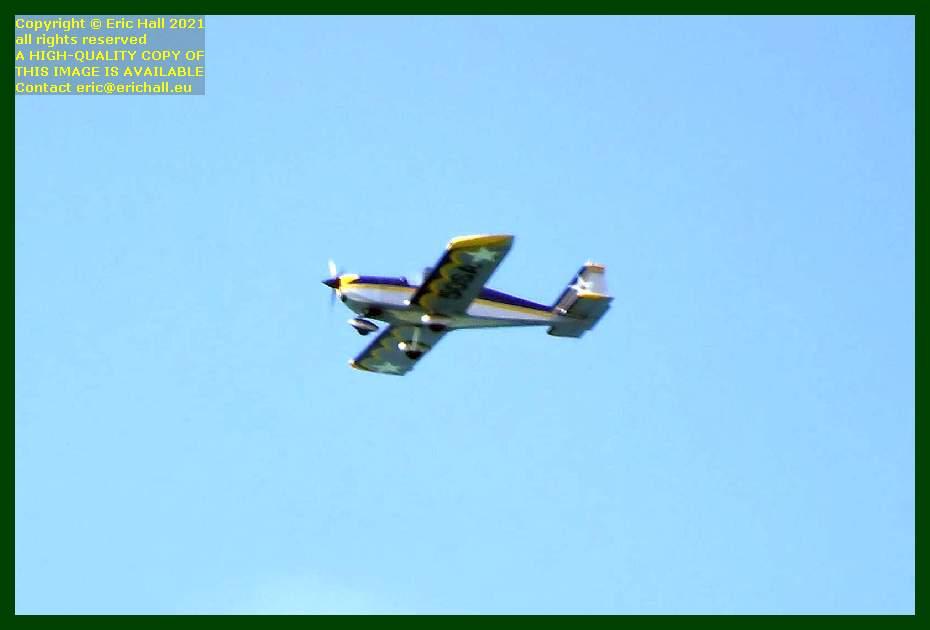 50sa aeroplane baie de Granville Manche Normandy France Eric Hall