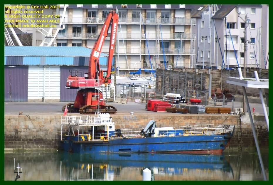normandy trader port de Granville harbour Manche Normandy France Eric Hall