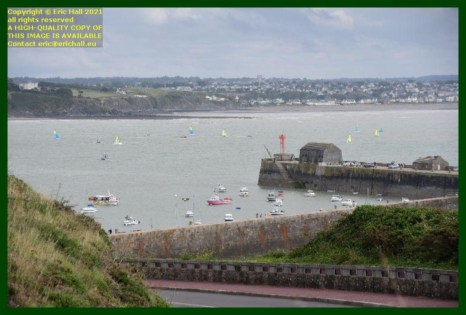 sailing school baie de mont st michel Granville Manche Normandy France Eric Hall