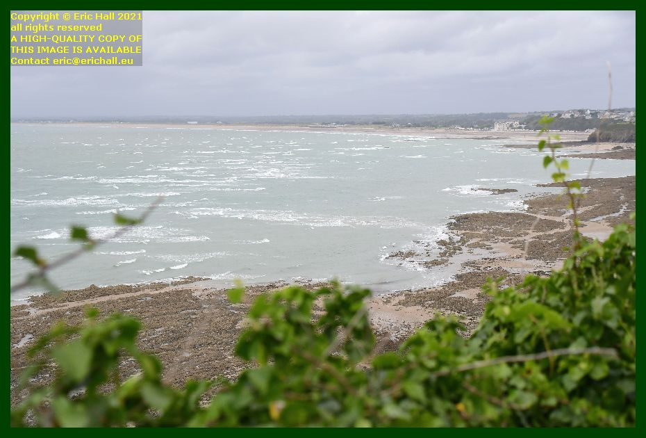 storm at sea baie de Granville Manche Normandy France Eric Hall