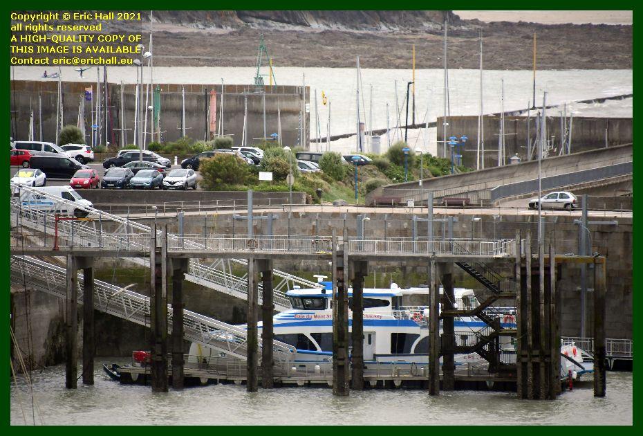 belle france ferry terminal port de Granville harbour Manche Normandy France Eric Hall