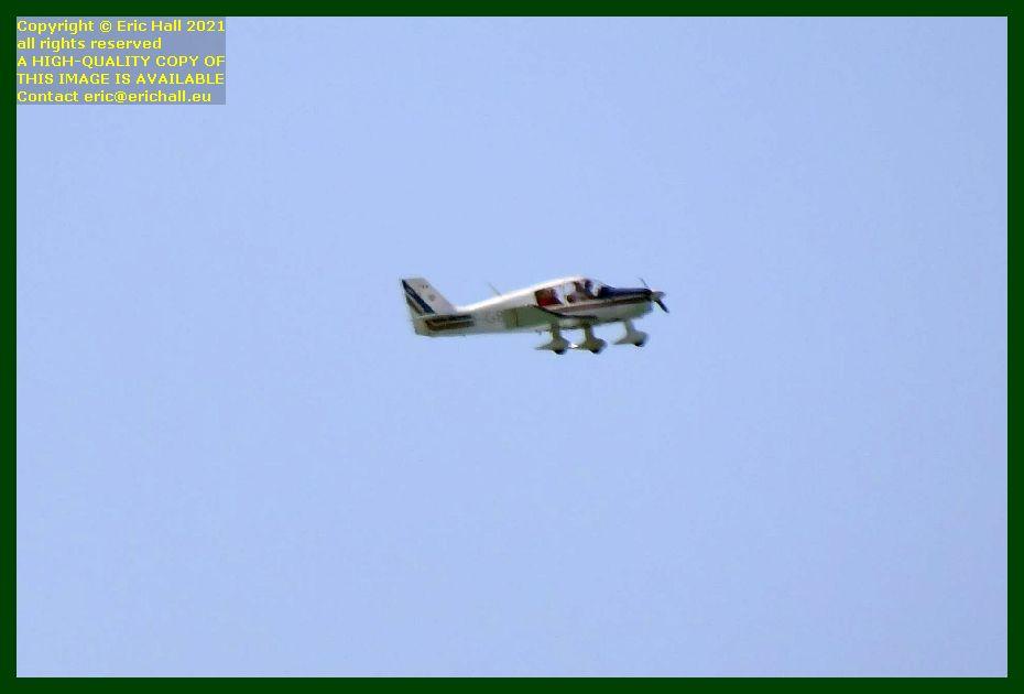 f-gbai Robin DR400/140B baie de Granville Manche Normandy France Eric Hall