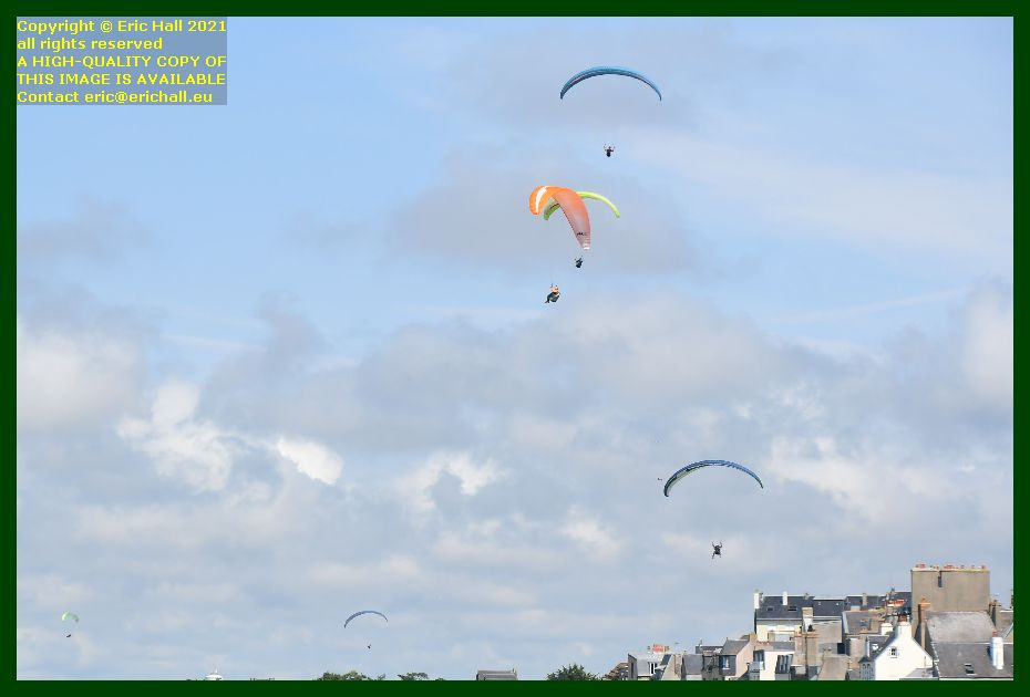 hang gliders plat gousset Granville Manche Normandy France Eric Hall