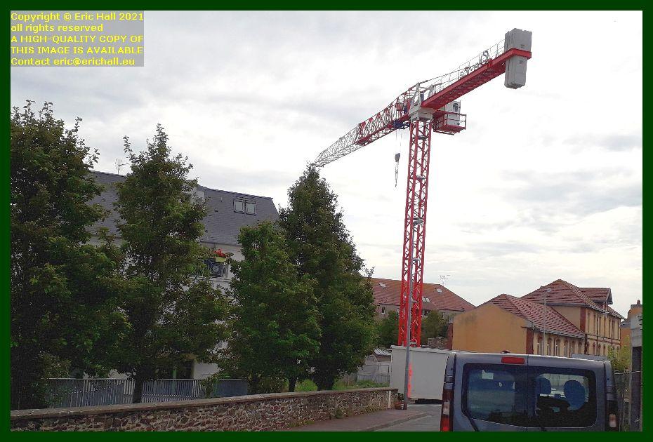 crane rue victor hugo rue saint paul Granville Manche Normandy France Eric Hall