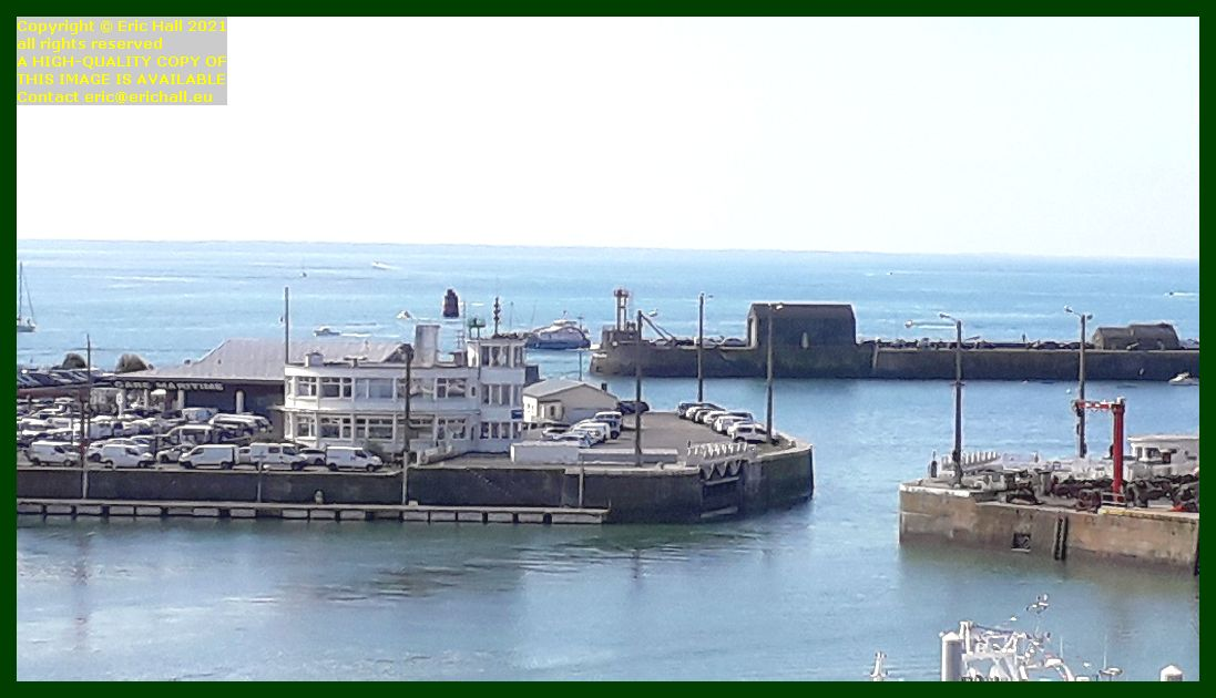 chausiaise arriving at port de Granville harbour Manche Normandy France Eric Hall