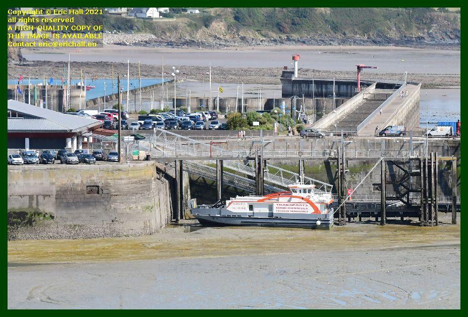 chausiaise ferry terminal port de Granville harbour Manche Normandy France Eric Hall