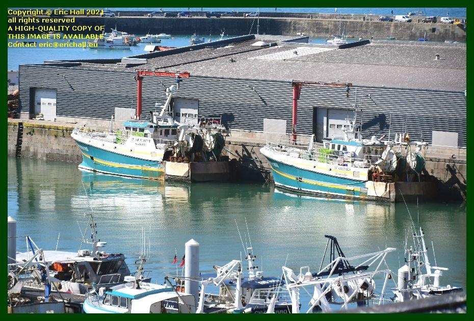 coelacanthe tiberiade port de Granville harbour Manche Normandy France Eric Hall
