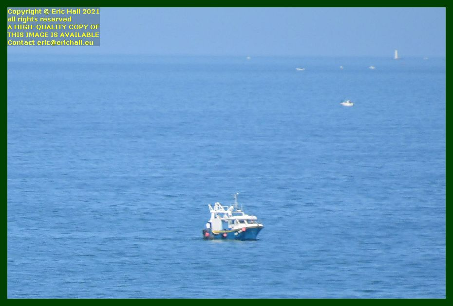fishing boat baie de Granville Manche Normandy France Eric Hall