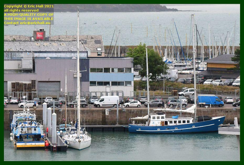 spirit of conrad aztec lady port de Granville harbour Manche Normandy France Eric Hall
