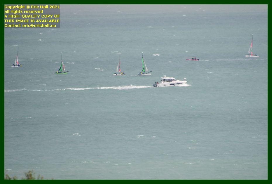 cabin cruiser yacht school baie de mont st michel Granville Manche Normandy France Eric Hall