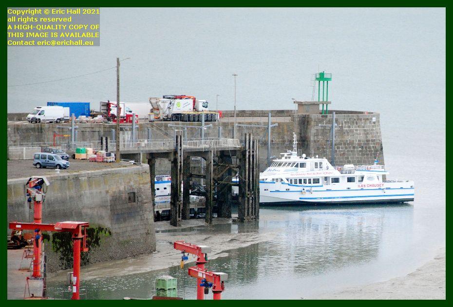 joly france belle france ferry terminal port de Granville harbour Manche Normandy France Eric Hall
