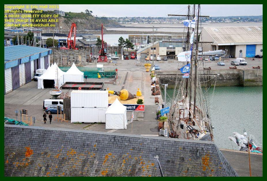 festival de voiles de travail port de Granville harbour Manche Normandy France Eric Hall