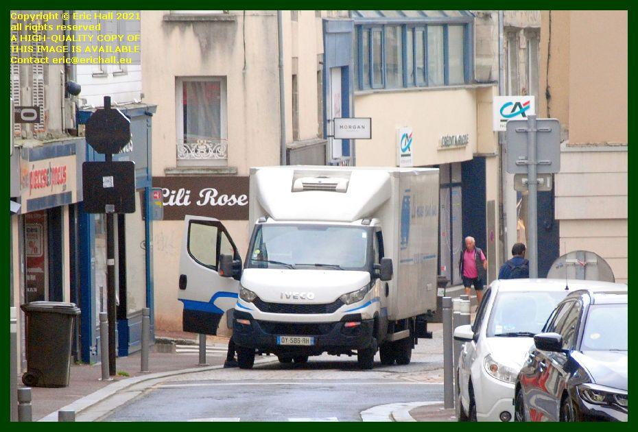 broken down van rue couraye Granville Manche Normandy France Eric Hall