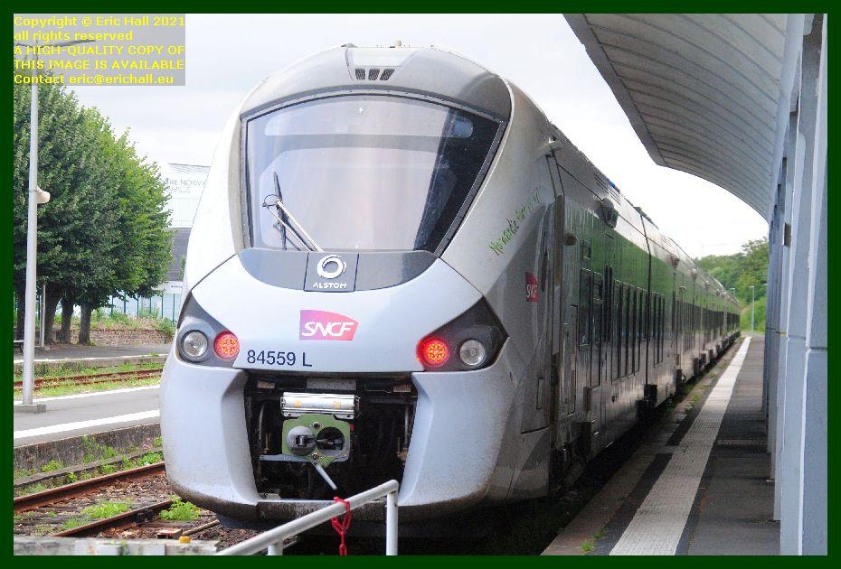 84559 gec alstom regiolis gare de Granville railway station Manche Normandy France Eric Hall