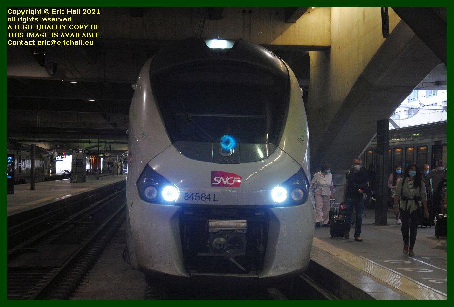 84584 gec alstom regiolis gare montparnasse paris France Eric Hall