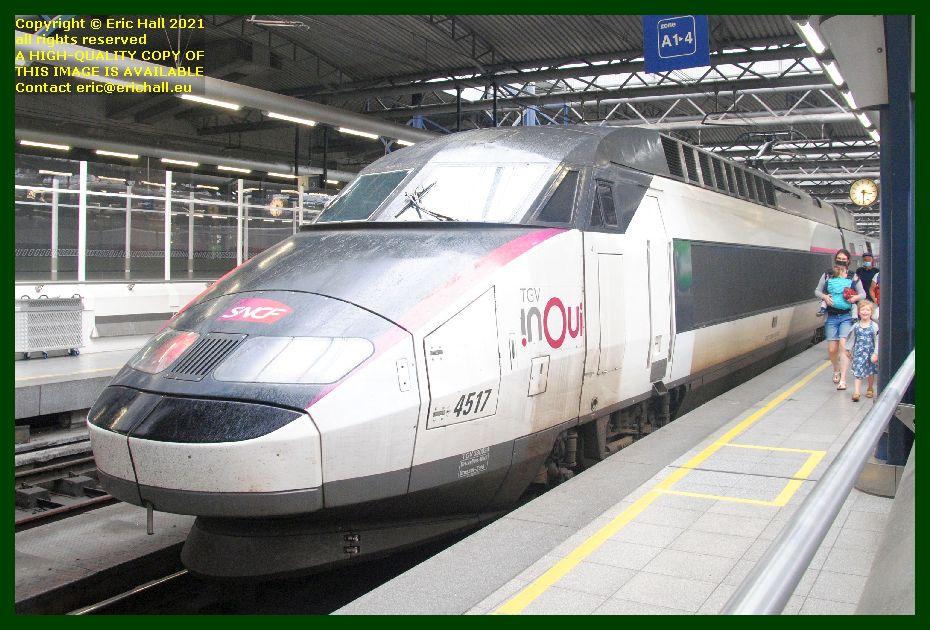 TGV Réseau 38000 tri-volt 4517 PBA gare du midi brussels belgium Eric Hall