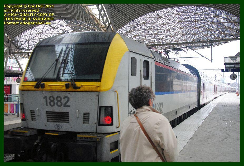 1882 class 18 electric locomotive gare de leuven railway station belgium Eric Hall