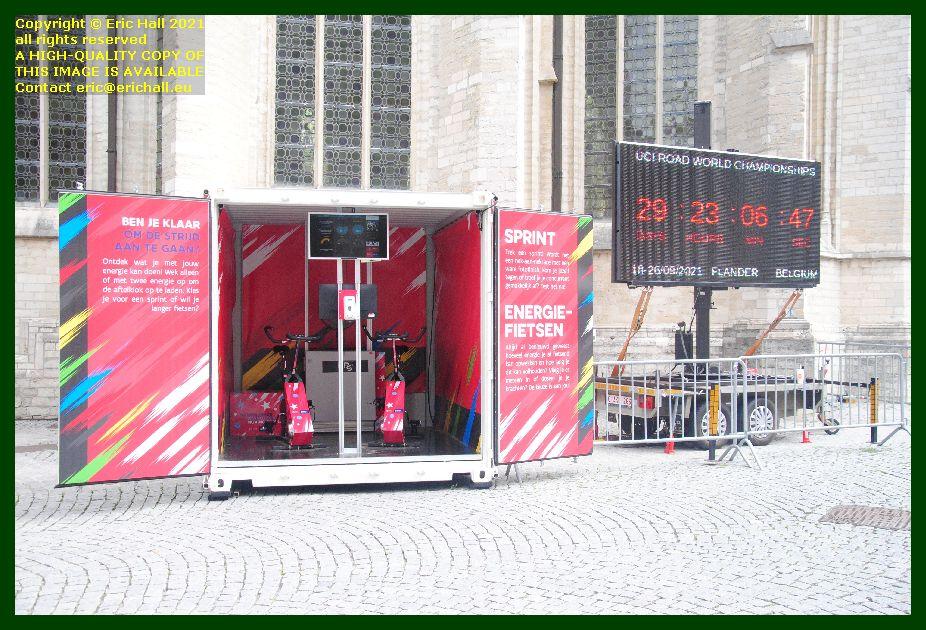 cycling fitness machine grote markt leuven belgium  Eric Hall