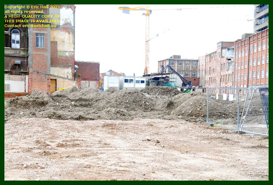soil deposited at sint pieters hospital brusselsestraat leuven belgium Eric Hall