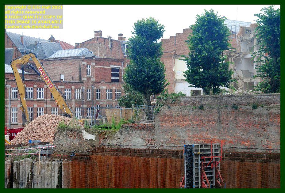 more demolition Onze Lieve Vrouwstraat Leuven belgium Eric Hall